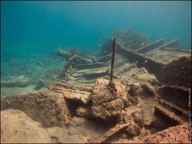 Израиль увёл у палестинцев древний корабль с сокровищами