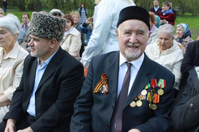 Мусульманская молодежь Москвы чествовала ветеранов