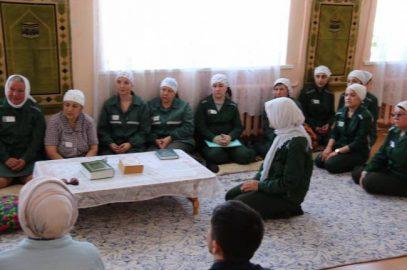 Женщины-заключенные уповают на духовную поддержку