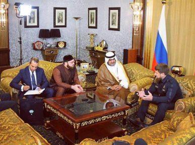 Кадыров укрепил связи с влиятельной страной Залива