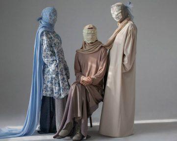 Российский мусульманский дизайнер шокировал гламурной «паранджой» (ФОТО)