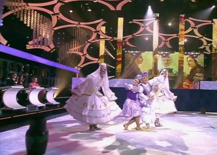 Роза Сябитова станцевала татарский танец в эфире Первого канала