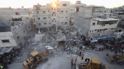 От израильских авиаударов по Газе пострадали дети