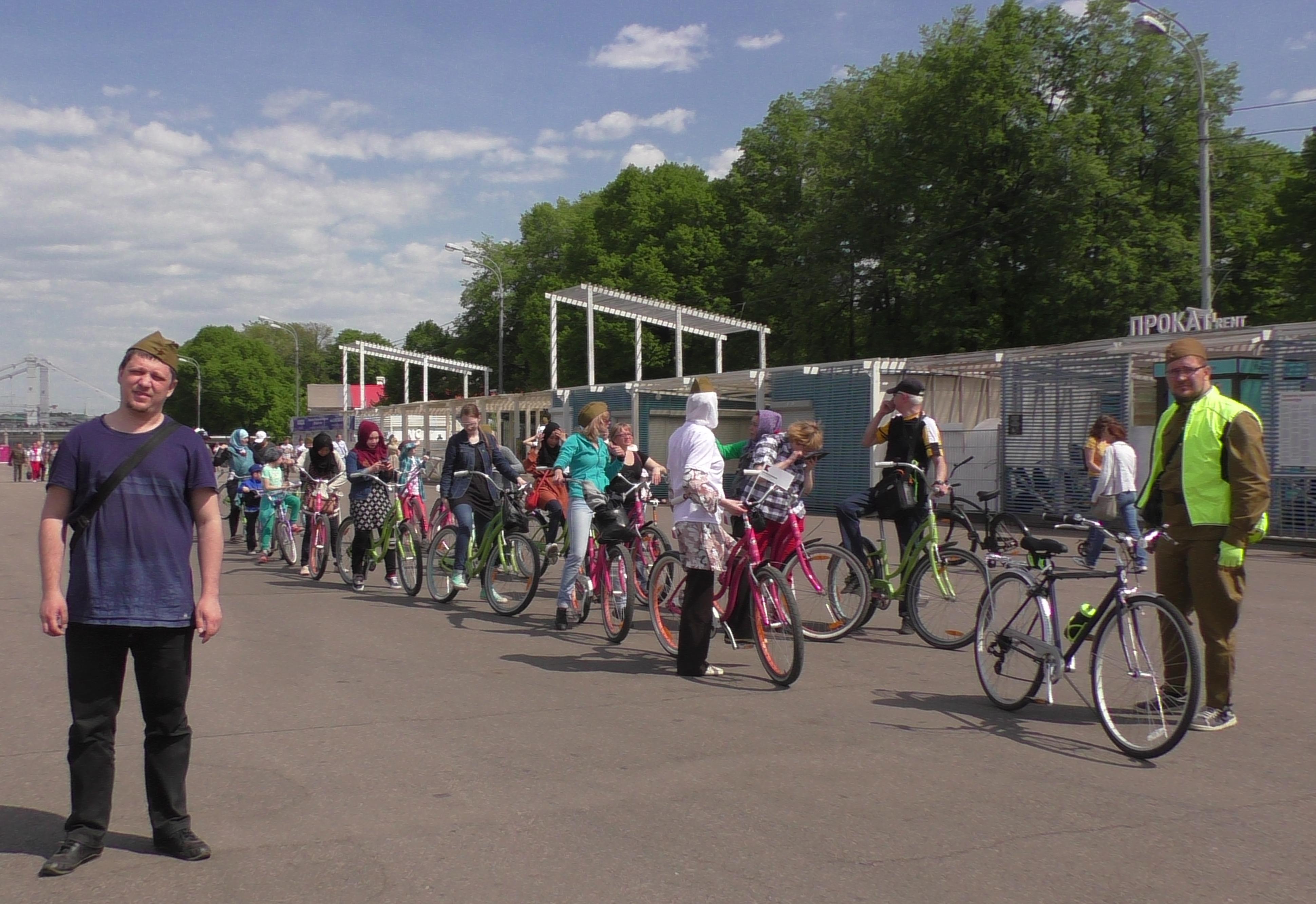 Велоколонна мусульман