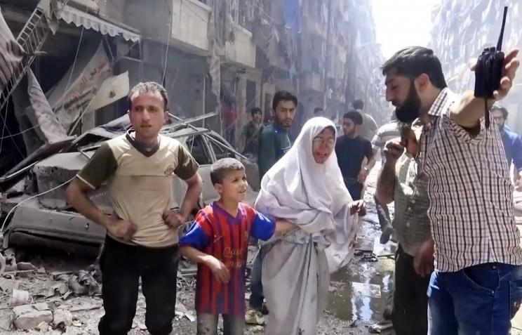 Россия обратится к Асаду в связи с обстрелами районов с мирным населением
