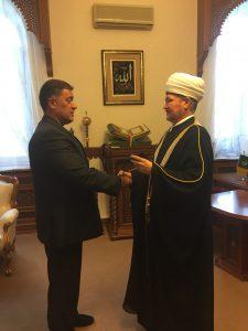 Глава Совета муфтиев Равиль Гайнутдин и