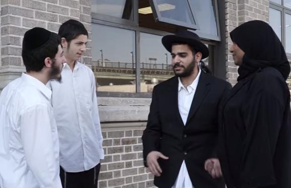 Как хасиды отреагировали на любовь мусульманки и иудея (ВИДЕО)