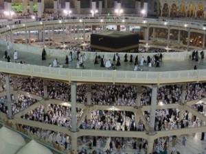 В Заповедной мечети Мекки демонтировали матаф