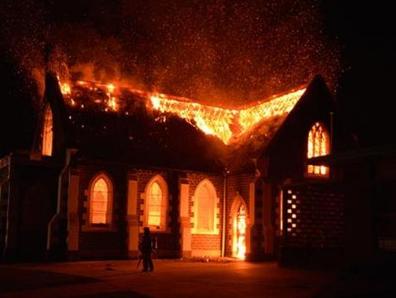 Мечеть не выдержала пятого поджога