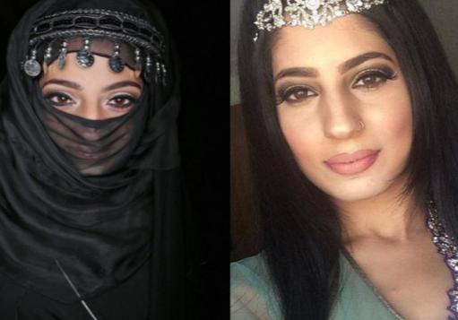 Порноактриса оскверняет хиджаб развратом