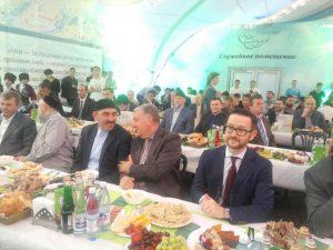 Евкуров и Белоусов в окружении имамов Албогачиева и Аляутдинова