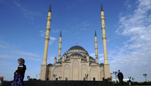 Мечеть «Сердце Чечни». Фото: РИА Новости