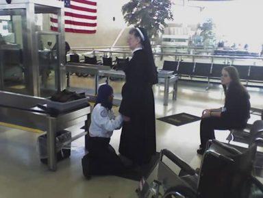 Обыск монахини мусульманкой наделал шума в сети
