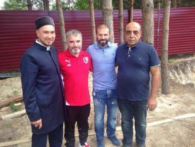 Футболист «Рубина» взялся за постройку мечети