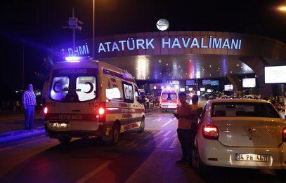 «Халифат» отметил годовщину в аэропорту Стамбула