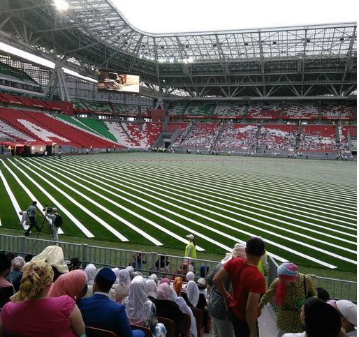 В Казани прошел самый массовый ифтар в России (ВИДЕО)
