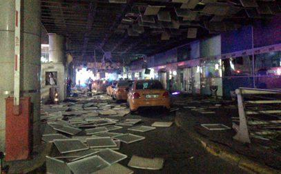 В аэропорту Стамбула прогремели взрывы (ВИДЕО)