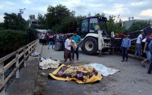 Osmaniye- Kozan yolu Cevdetiye köyü yakınlarında bir midibüs, DSİ'nin sulama kanalına uçtu. Olay yerine çok sayıda ambulans ve kurtarma ekibi sevk edildi. İlk belirlemelere göre 7 kişi hayatını kaybetti. ( Ahmet Erkan Yiğitsözlü - Anadolu Ajansı )