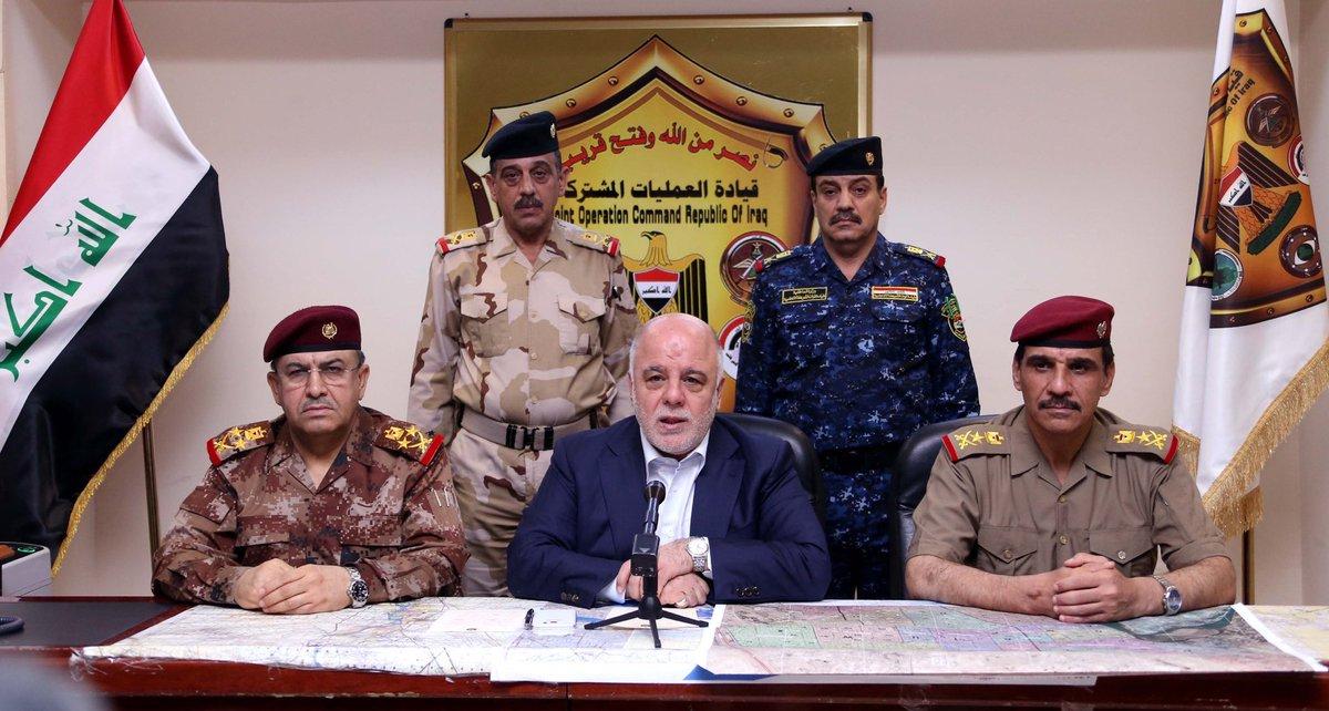 Иракские войска взяли под контроль центр Эль-Фаллуджи