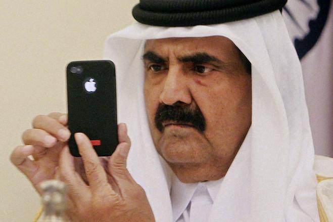 Бывший эмир Катара Хамад бин Халифа Ат-Тани