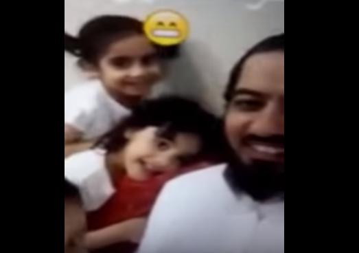 Счастливый отец 5 дочерей