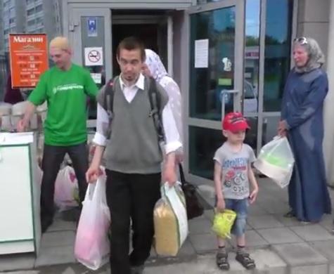 Жители Казани попали под раздачу (ВИДЕО)
