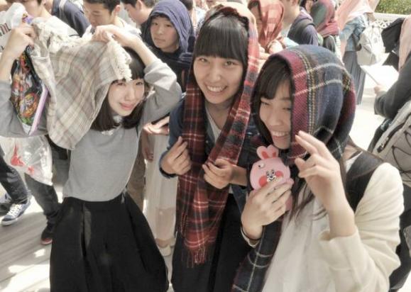 Японские школьники – о «бесценном» уроке в мечети