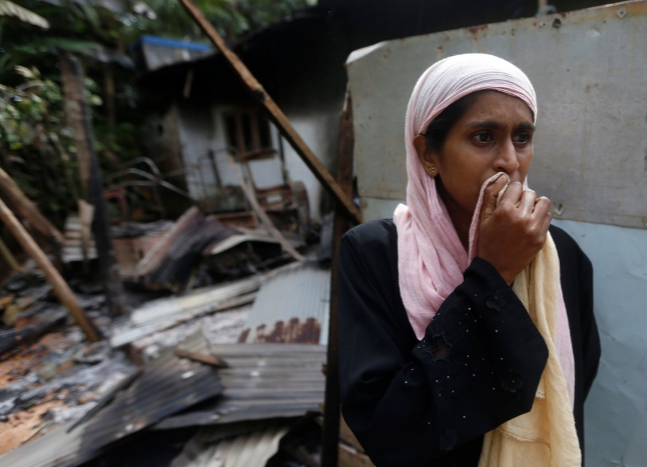 Буддийские радикалы уничтожили мечеть и медресе