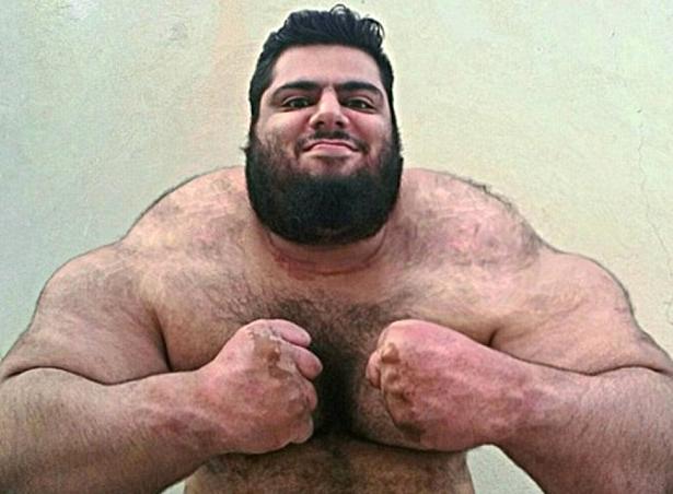 Иранский Халк шокирует публику умопомрачительным телом (ФОТО)