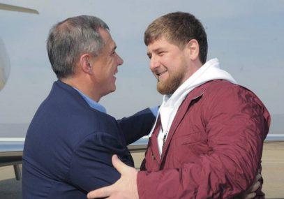 Кадыров поздравил Минниханова с важным достижением