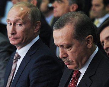 Кремль раскрыл детали разговора Путина и Эрдогана