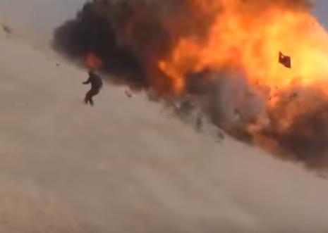 В сети появилось видео смертельного ранения российского военного в Сирии