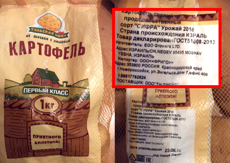 Как Израиль обманывает российских потребителей