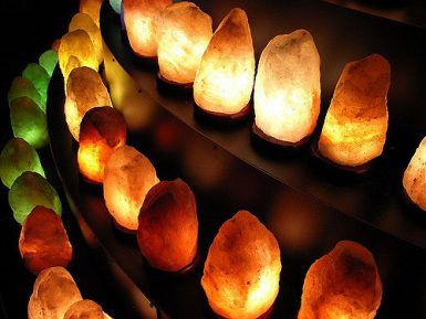Некоторые лечебные свойства солевых ламп