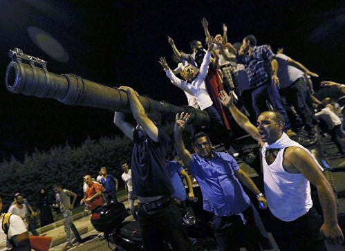 Агентура Турции знала оготовящемся госперевороте