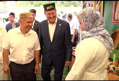 В Татарстане прошел мусульманский Сабантуй для детей (ВИДЕО)