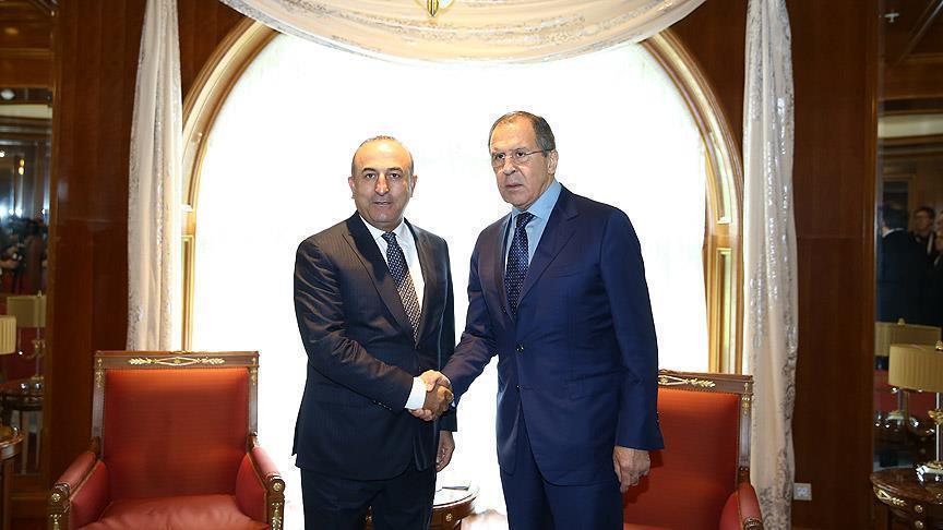 Главы МИД России и Турции договорились о координации по Сирии