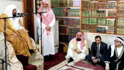 Имам Заповедной мечети прибыл в Британию с важной миссией