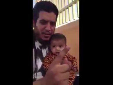 Эрдоганомания: Саудовец изменил имя сына, назвав его Эрдоганом (ВИДЕО)