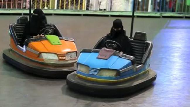 Саудийки на электромобилях