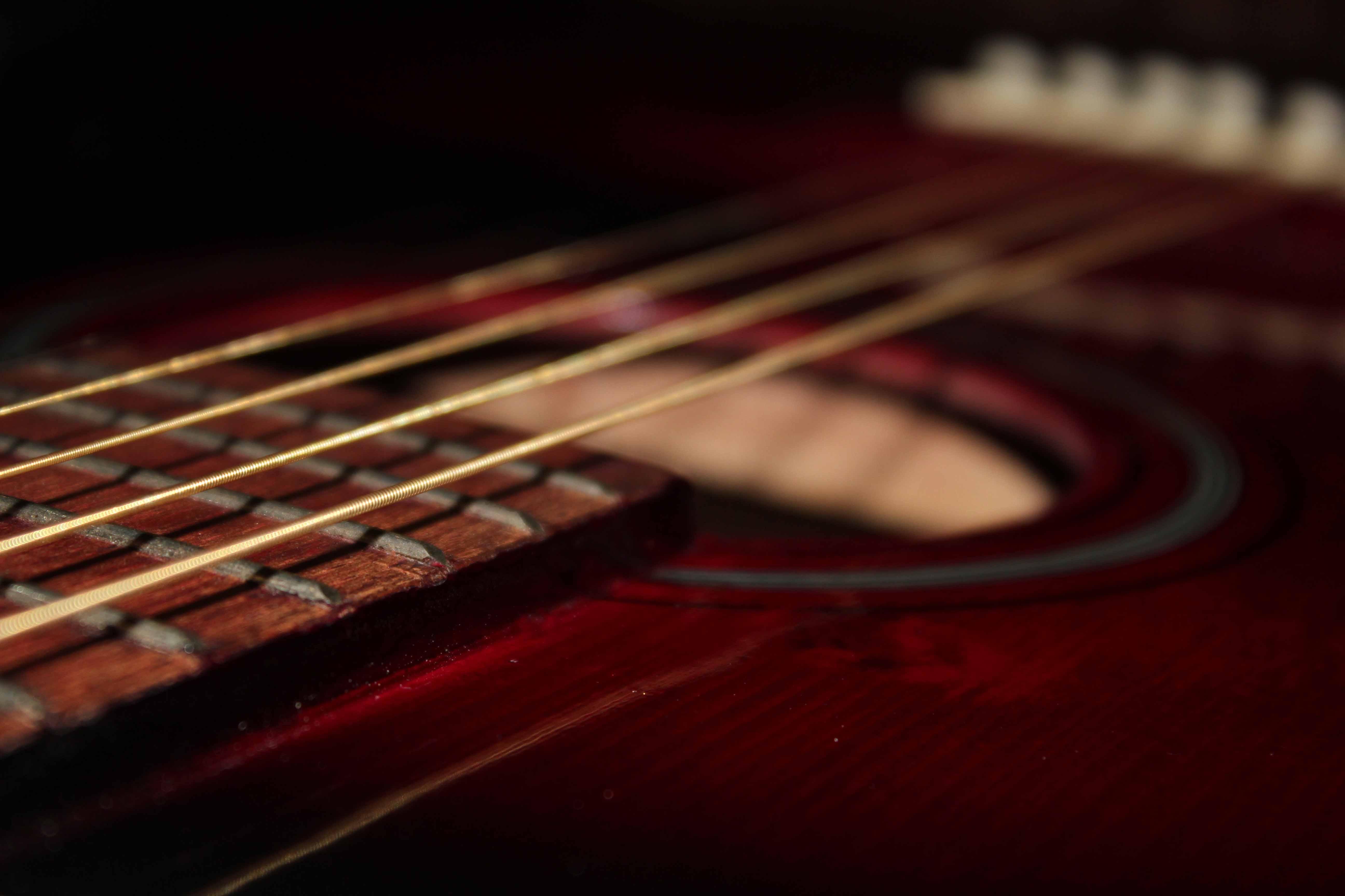 Выбор материала для первой гитары