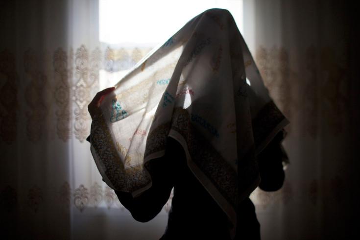 Закрытые девушки в хиджабе фото