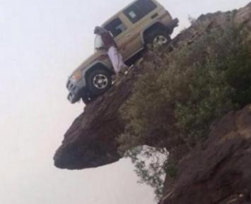 Саудовец шокировал общество смертельно опасным селфи