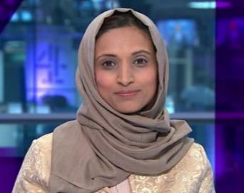 Диктор в хиджабе заставила европейцев содрогнуться