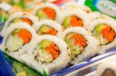 Главные плюсы заказа доставки суши на дом