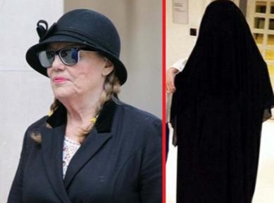 Пенсионерку судят за осквернение хиджаба