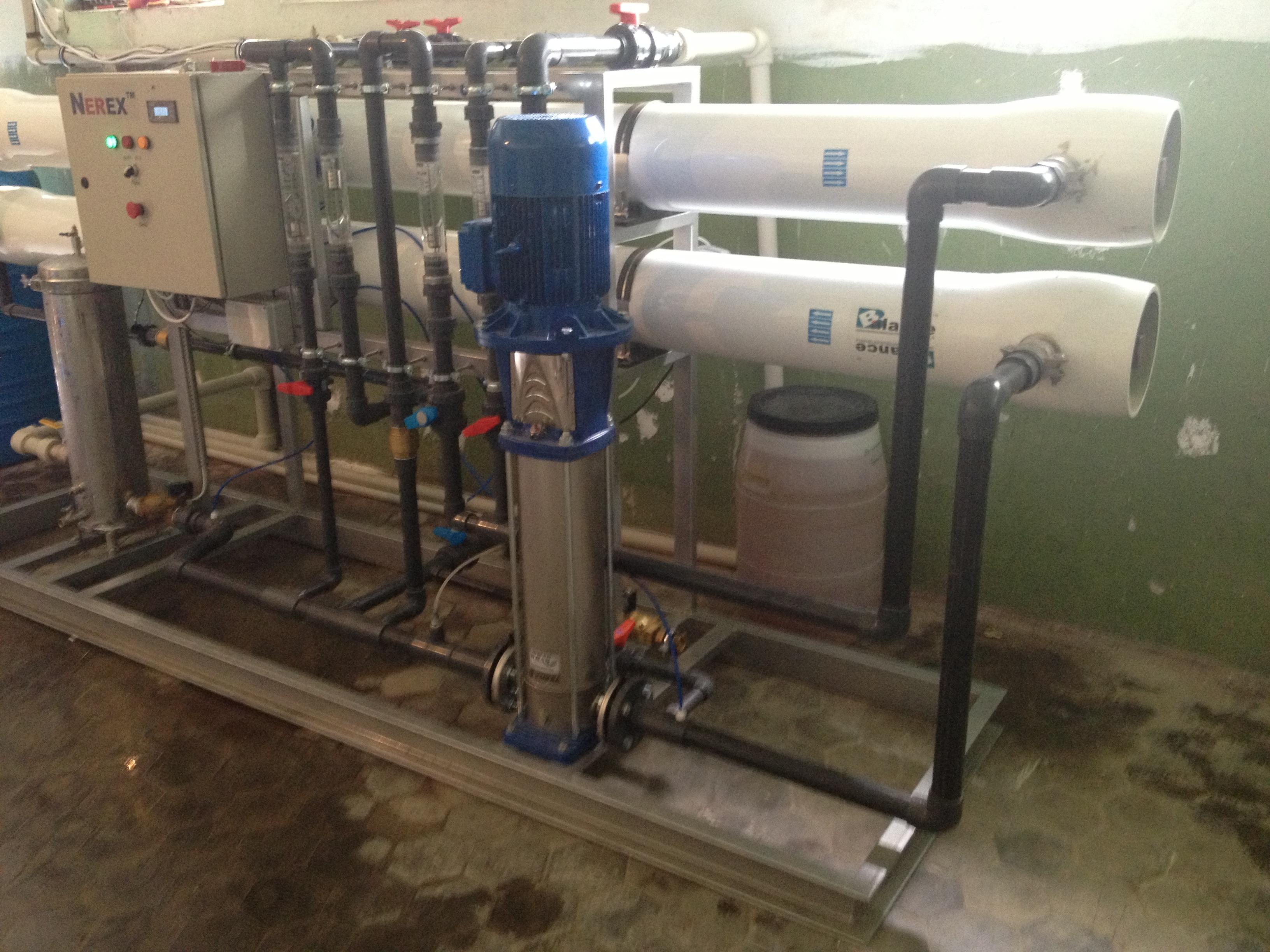 Преимущества очистки воды при помощи осмотических установок