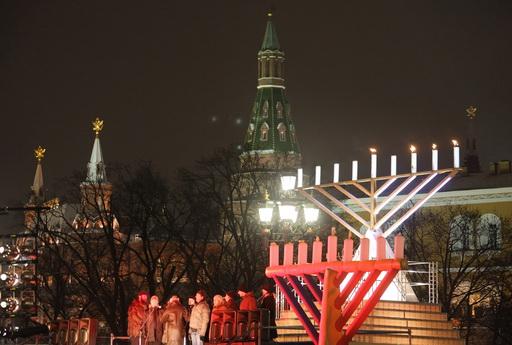 Еврейская символика в центре Москвы