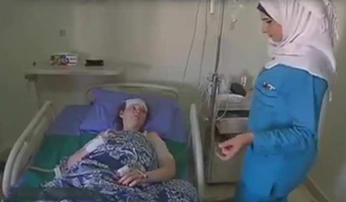 Россиянку, достаточно серьезно пострадавшую вАлеппо, доставили вПетербург