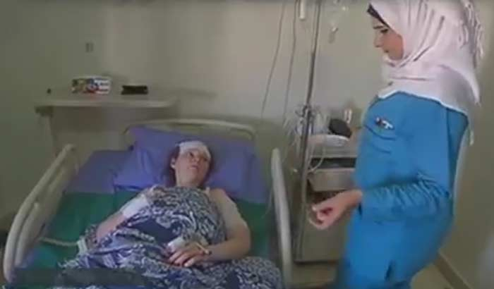 Ирина Баракят лишилась ноги и кисти